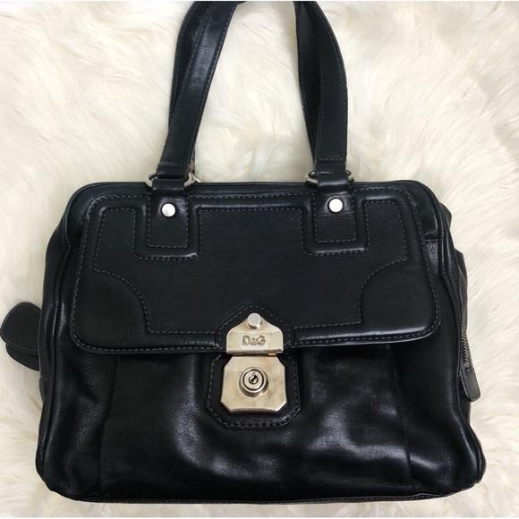 Dolce   Gabbana Bags   Dg Allyson Black Leather Doctor Bag   Poshmark 4c687c35c5